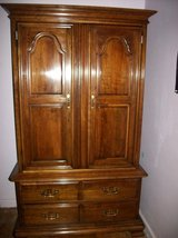 Kling Colonial Armoire Solid Wood Cabinet in Camp Lejeune, North Carolina