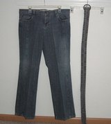 Route 66 Denim Jeans with Belt In Women's Size 13/14 Juniors in Morris, Illinois
