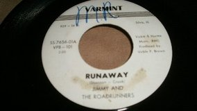 (Jimmy and the Roadrunners) Circa 1963 (Varmit) Record Label (Virble Brown) Producer) in Quad Cities, Iowa