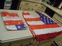 "Halloween Doggie ""American Flag"" Costumes - Size Large (Have 2 Of Them) in Kingwood, Texas"
