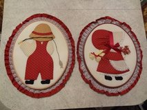 two Holly Hobby crafted applique in Conroe, Texas